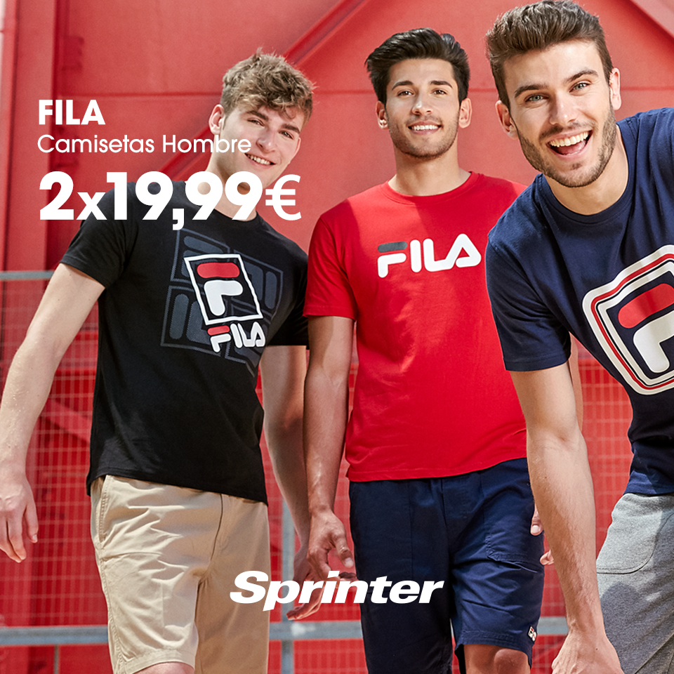 sprinter camiseta fila